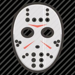 hockey, mask icon