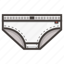 men, underpants icon