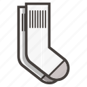 socks, white socks icon