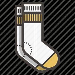 socks, white socks icon