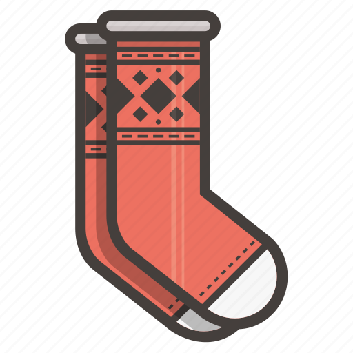 red socks, socks icon