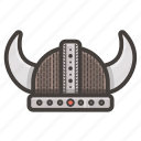 hat, viking icon