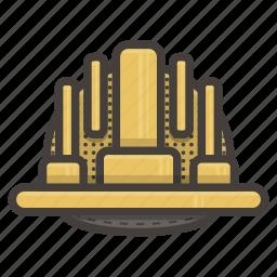 hat, work, worker icon
