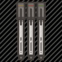 colored, pens icon