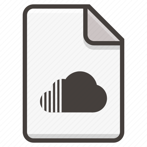 document, sound, soundlcoud icon