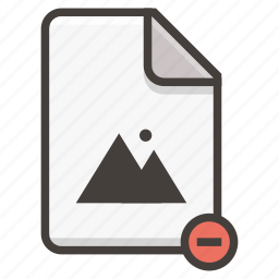 document, image icon
