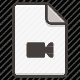 camera, document icon