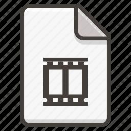 document, film icon
