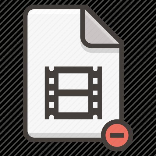 document, movie icon