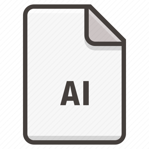 adobe, document, illustrator icon