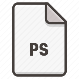 adobe, document, photoshop icon