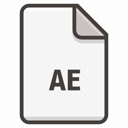 adobe, after effects, document icon