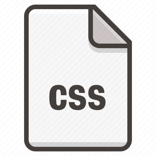 css, document icon