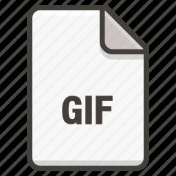 document, gif icon