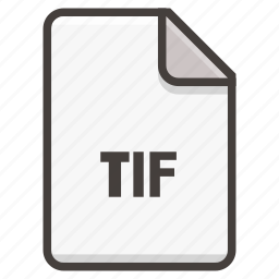 document, image, tif icon