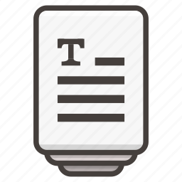 document, files icon