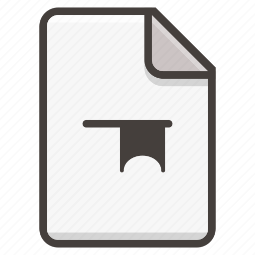 document, flag icon