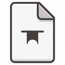 badge, document icon