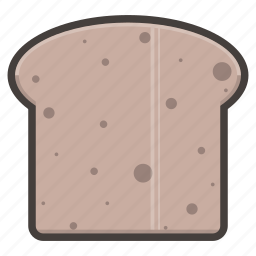 bread, slice icon