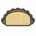 burito, fast food icon