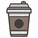 coffee, cup, fast food icon