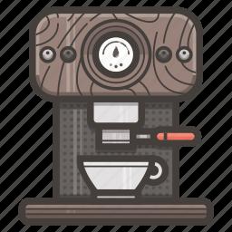 coffee, espresso, kitchen, machine icon