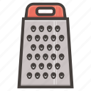 graters, kitchen icon