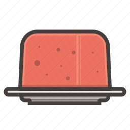 cake, jelly icon