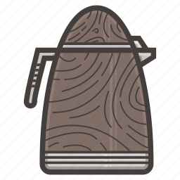 kettle, kitchen icon