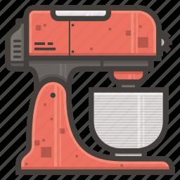 kitchen, mixer icon