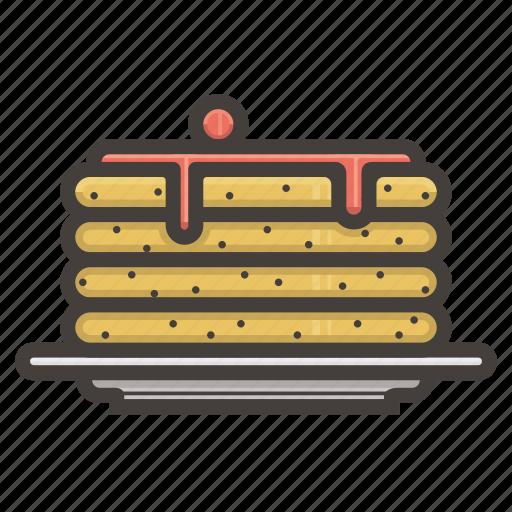 desert, pancakes, sweet icon