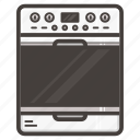 kitchen, stove icon