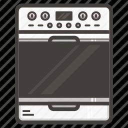 kitchen, stove icon