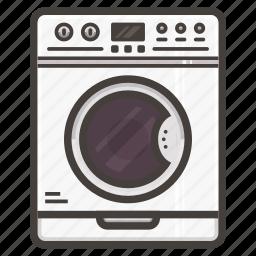 machine, washing icon