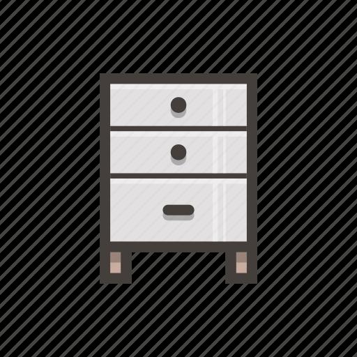 cabinet, file, furniture icon
