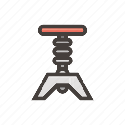 chair, furniture, spinning icon