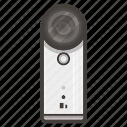 camera, htc, video icon