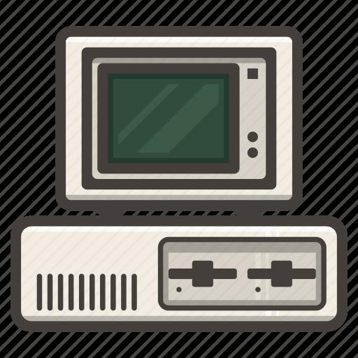 ibm, legacy, pc icon