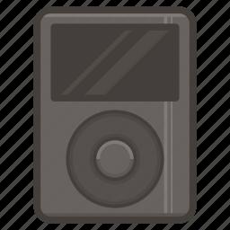 apple, classic, ipod, music icon