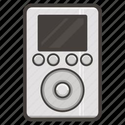 apple, classic, ipod, legacy, music icon