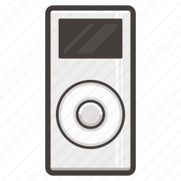 apple, ipod, music, nano icon