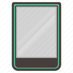 color, ebook, kobo, reader icon