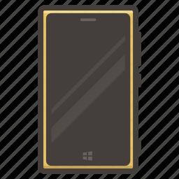 lumia, nokia, smartphone icon