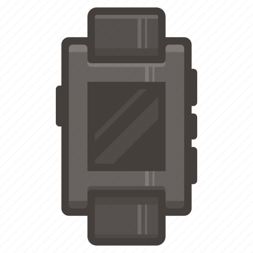 pebbble, smartwatch, watch icon