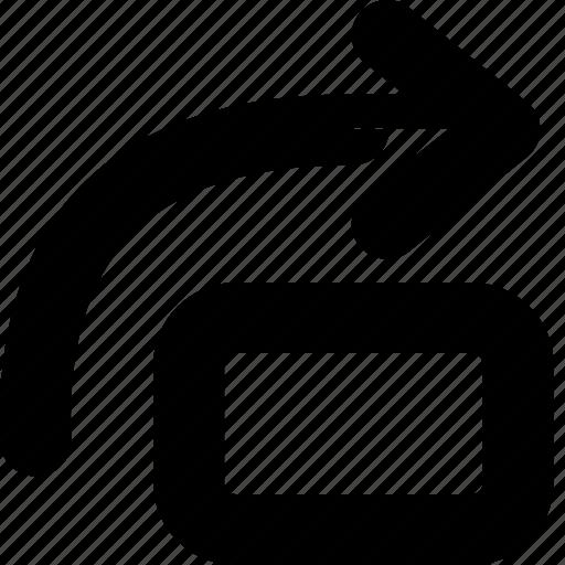 arrow, flip, icon, image, right, rotate, rotation icon