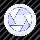 app, edition, google, image, picasa, shutter, software icon