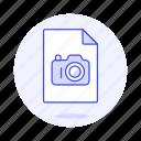 camera, file, files, format, image, photo, raw icon