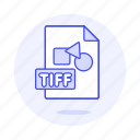 file, files, format, image, tiff icon