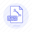 file, files, format, image, svg, vector icon