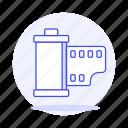 equipment, film, gear, image, photo, roll icon